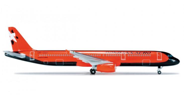 Модель самолета Airbus A321 Donbassaero 1:500 520751