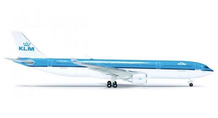 Модель самолета Airbus A330-300 KLM Royal Dutch Airlines 1:500 523158