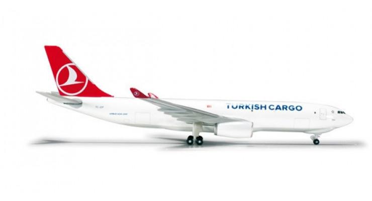 Модель самолета Airbus A330-200F Turkish Cargo 1:500