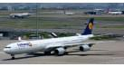 "Модель самолета Airbus A340-600 Lufthansa ""Fanhansa"" 1:500 526845"