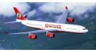 Модель самолета Airbus A340-500 Kingfisher 1:500 527217