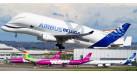 Модель самолета Airbus Beluga XL 1:400