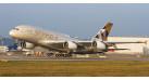 Модель самолета Airbus A380 Etihad Airways 1:250