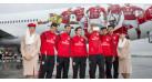 """Модель самолета Boeing 777-300ER Emirates """"Benfica Lissabon"""" 1:200"""