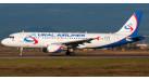 Модель самолета Airbus A320 Уральские Авиалинии 1:400 0009624