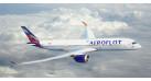 Модель самолета Airbus A350-900 Аэрофлот 1:144