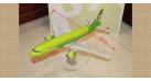 Модель самолета Airbus A320neo S7 Airlines 1:100