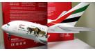 """Модель самолета Airbus A380-800 """"Wildlife"""" Emirates 1:200"""