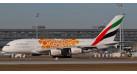 """Модель самолета Airbus A380-800 Emirates """"Orange Expo 2020"""" 1:200"""