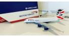 Модель самолета Airbus A380-800 British Airways 1:400