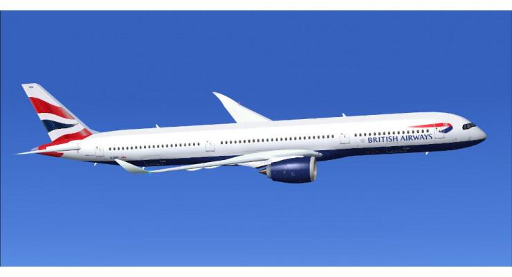 Модель самолета Airbus A350-1000 British Airways 1:400