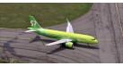 Модель самолета Airbus A320neo S7 Airlines 1:400