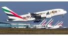 """Модель самолета Airbus A380-800 """"Wildlife #3"""" Emirates 1:400"""