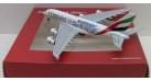 "Модель самолета Airbus A380 Emirates ""Real Madrid"" 1:400"