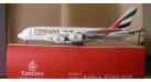 """Модель самолета Airbus A380-800 """"Expo 2020"""" Emirates 1:400"""