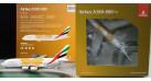 """Модель самолета Airbus A380-800 """"Orange Expo 2020"""" Emirates 1:400"""