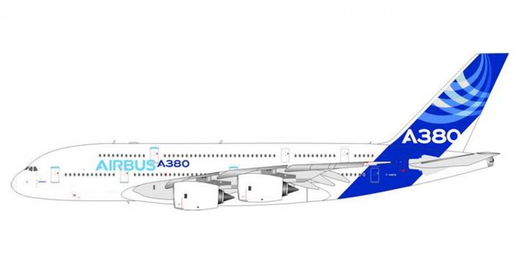 Модель самолета Airbus A380-800