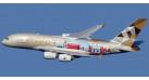 """Модель самолета Airbus A380-800 """"ADNOC"""" Etihad Airways 1:400"""