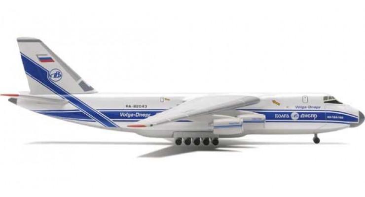 Модель самолета Антонов Ан-124 Волга-Днепр 1:500