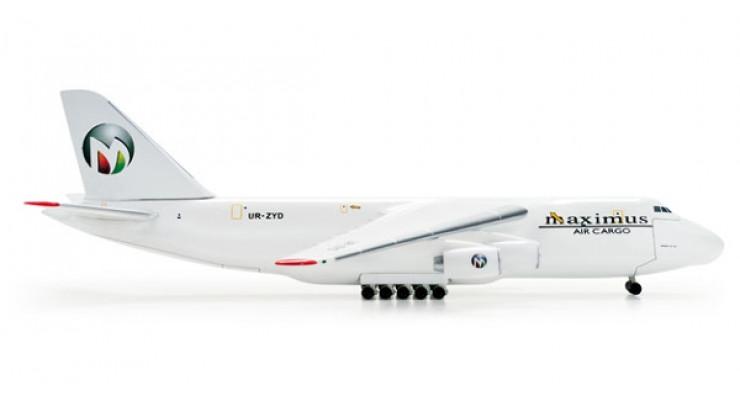 Модель самолета Антонов Ан-124 Maximus Air Cargo 1:500
