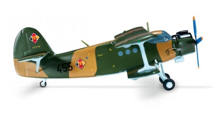 Модель самолета Антонов Ан-2 East German Air Force 1:200 555029