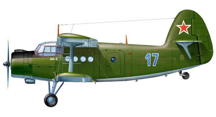 Модель самолета Антонов Ан-2 ВВС СССР 1:72 AR0003