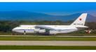 Модель самолета Антонов Ан-124-100 ВВС России 1:144