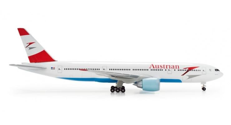 Модель самолета Boeing 777-200 Austrian Airlines 1:500 506786
