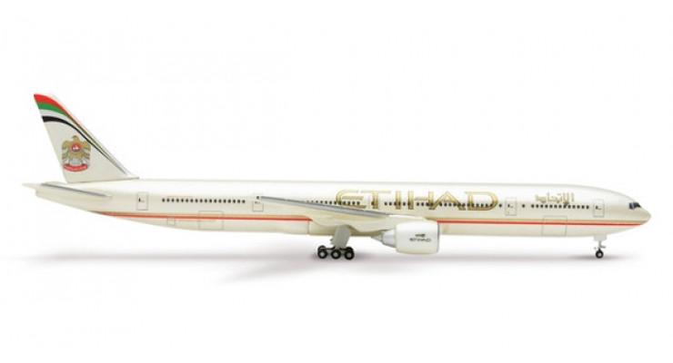 Модель самолета Boeing 777-300ER Etihad Airways 1:500 510615