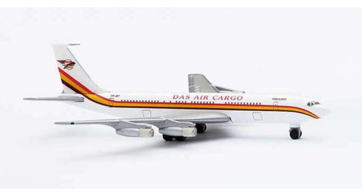 Модель самолета Boeing 707-300F DAS Air Cargo 1:500 511759
