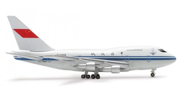 Модель самолета Boeing 747SP Civil Aviation Administration of China 1:500 513258