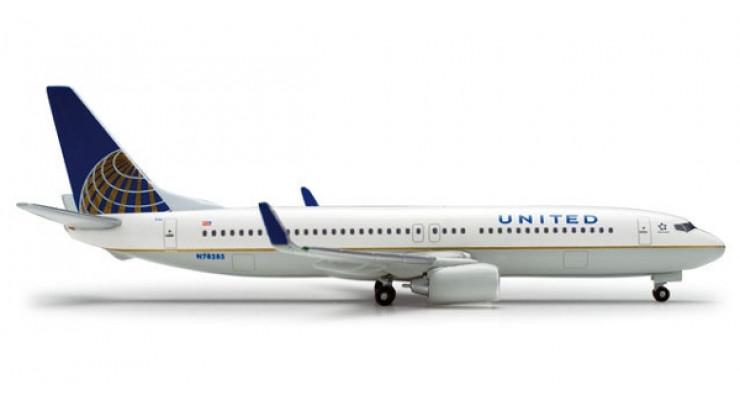 Модель самолета Boeing 737-800 United Airlines 1:500 518154