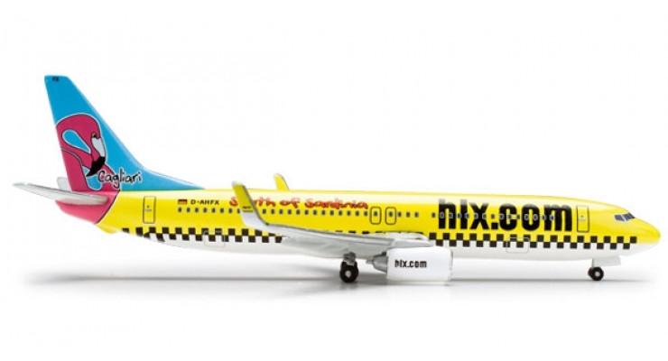 "Модель самолета Boeing 737-800 Hapag-Lloyd Express ""South of Sardinia"" 1:500 518444"