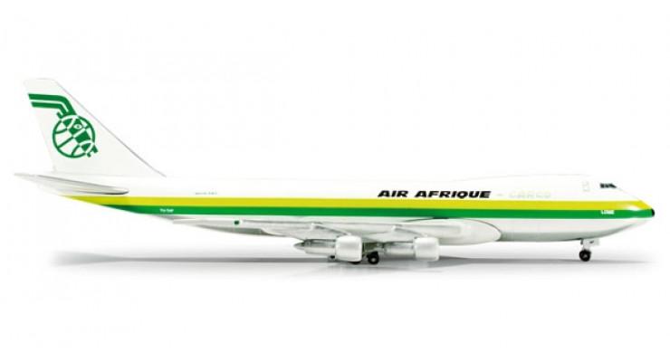 Модель самолета Boeing 747-200F Air Afrique 1:500 518475