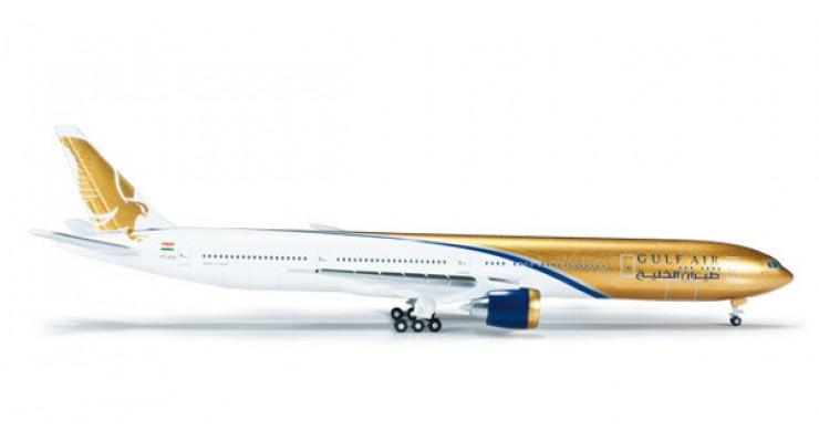 Модель самолета Boeing 777-300ER Gulf Air 1:500 518543