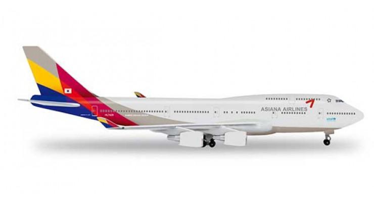 Модель самолета Boeing 747-400 Asiana Airlines 1:500 518611