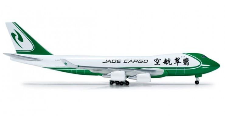 Модель самолета Boeing 747-400ERF Jade Cargo International 1:500 518802