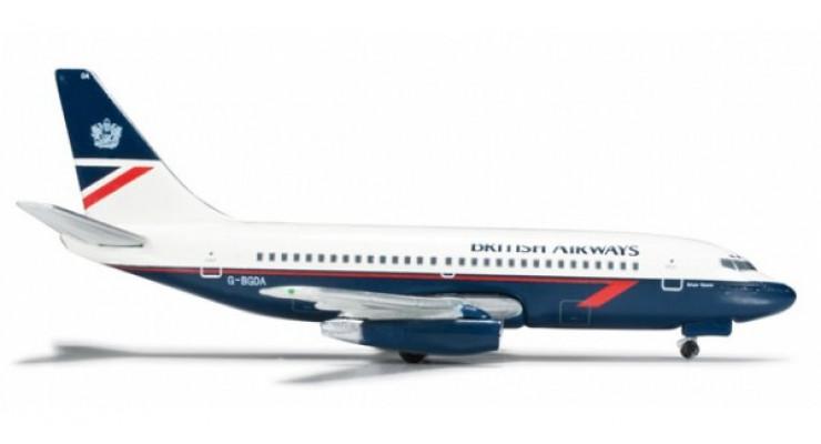 Модель самолета Boeing 737-200 British Airways 1:500 523967