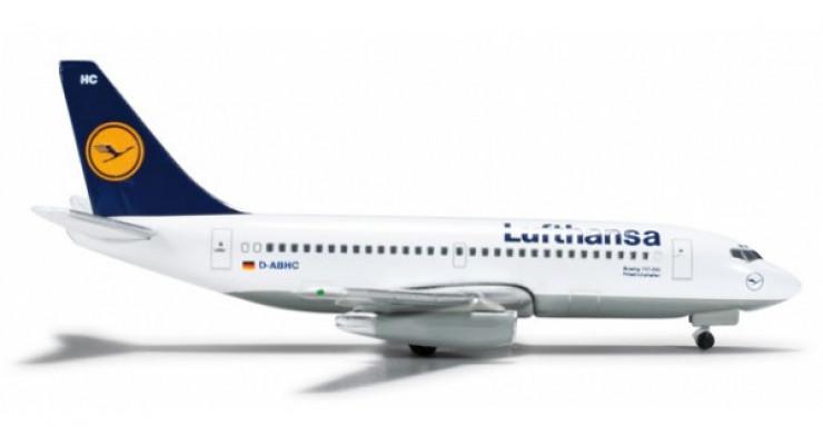 Модель самолета Boeing 737-200 Lufthansa 1:500 524032