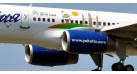 """Модель самолета Boeing 757-200 Якутия """"Дети Азии"""" 1:500"""