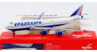 Модель самолета Boeing 747-400 Трансаэро 1:500