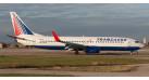 Модель самолета Boeing 737-800 Трансаэро 1:500