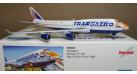 "Модель самолета Boeing 747-400 Трансаэро ""Амурский тигр"" 1:500"