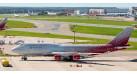 """Модель самолета Boeing 747-400 Россия """"Санкт-Петербург"""" 1:500"""