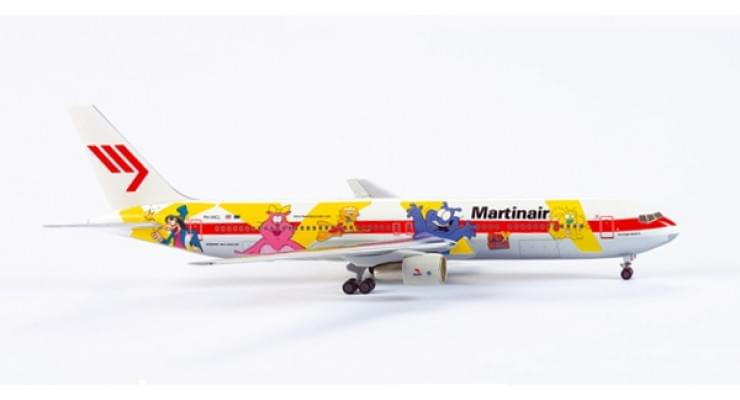 "Модель самолета Boeing 767-300 Martinair ""Fox Kids"" 1:200"