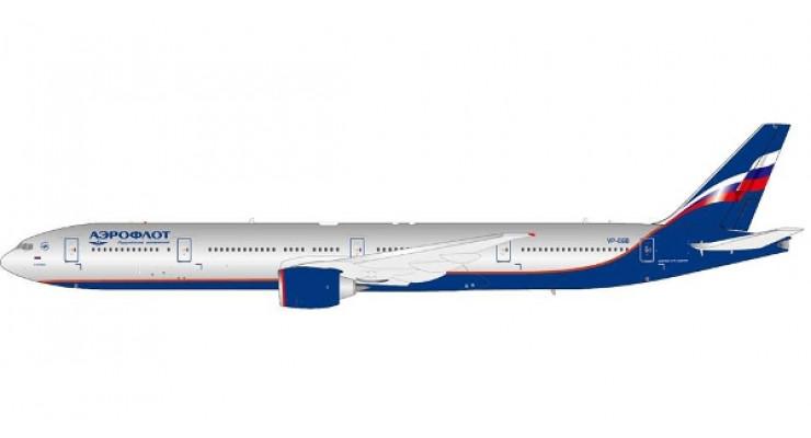 """Модель самолета Boeing 777-300ER Аэрофлот """"М. Кутузов"""" 1:200"""