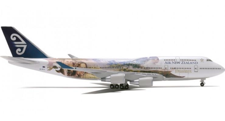 """Модель самолета Boeing 747-400 Air New Zealand """"Legolas / Aragorn"""" 1:400"""