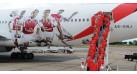 "Модель самолета Boeing 777-200LR Emirates "" Arsenal London "" 1:200"