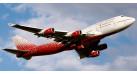 """Модель самолета Boeing 747-400 """"Россия"""" 1:250"""