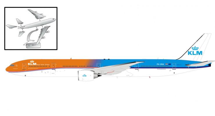 "Модель самолета Boeing 777-300ER KLM ""Orange Pride"" 1:200"